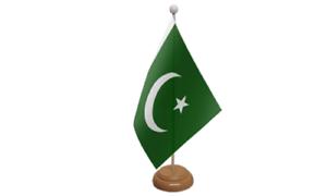 Pakistan-Table-Desk-Flag-amp-Wooden-Base-9-034-x-6-034