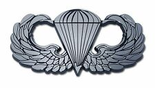 U.S. Army Chrome Auto Emblem (Paratrooper) Officially Licensed