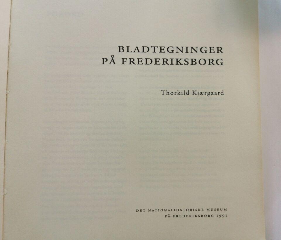 Bladtegninger på Frederiksborg., -, anden bog