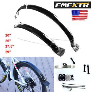 "20/"" Folding Bike Fenders Front/&Rear Durable Fenders Lengthen Plastic Mudguards"
