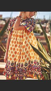 Anthropologie Caltha Swing Dress by Tanvi Kedia Sz XS - NWOT