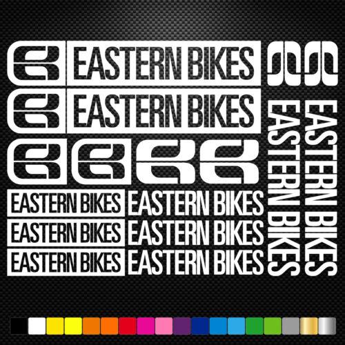 EASTERN BIKES aufkleber sticker set abziehbild decal fahrrad bike mtb bmx road