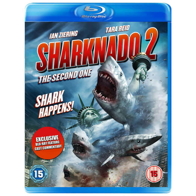 Sharknado 2  DVD Blu Ray (The Second One)