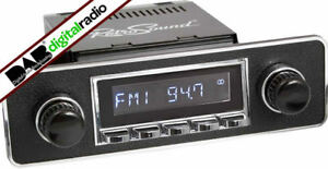 Retrosound-San-Diego-Classic-Car-DAB-Radio-Radio-USB-Bluetooth-Chrome-Euro-B-amp-C