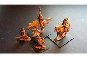 28mm Mounted and Unmounted Female Samurai Pack 2 (4 Metal Figures)