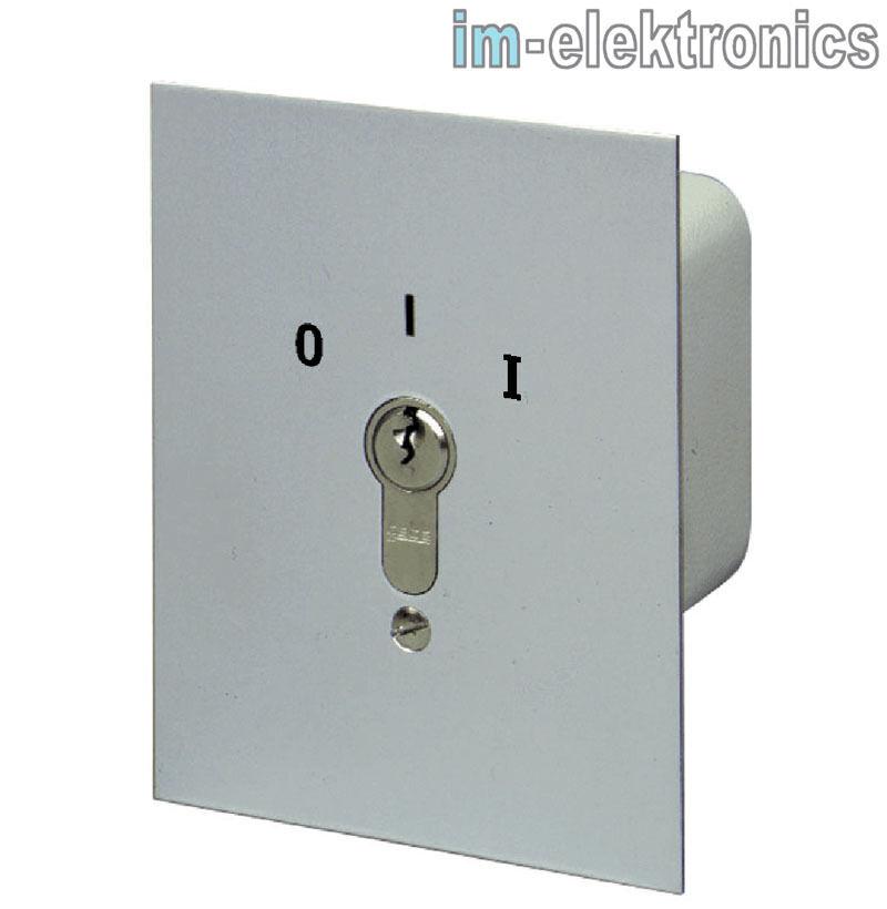 UP Schlüsselschalter AUS EIN 1-seitig rastend geba 019.1202.10 Tor Antrieb Motor  | Um Sowohl Die Qualität Der Zähigkeit Und Härte