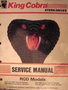 1990 omc cobra stern drive service manual 2. 3 3. 0 4. 3 5. 0 5. 7 5. 8.