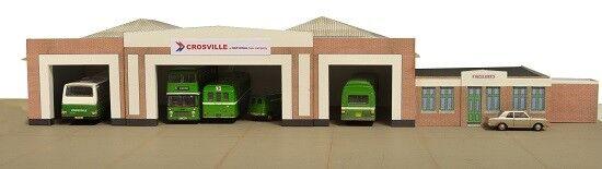 resway, 00 scale,Crosville autobus Depot, Flint Flint Flint wales, Kit build service. c16df0