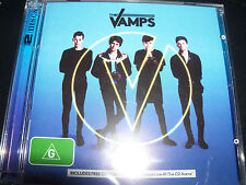 The Vamps Wake Up Limited (Australia) CD & DVD Live At The O2 Concert - New