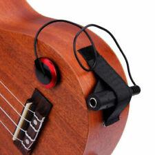 Unitedheart Professional P-007 Guitar Violin Ukulele Instruments Piezo Contact Microphone Pickup Universal Guitar Pickup Accessories Switch Clip Panel Patrol Holder Housing