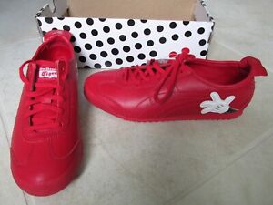 pretty nice d0799 6055b Details about NEW Asics Onitsuka Tiger Mexico 66 X DISNEY Mickey Mouse  Shoes WOMENS 8.5 RED