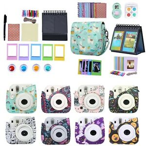 Fujifilm-Instax-Mini-9-8-8-Case-Strap-Bundle-Camera-Starter-Kit-Value-Gift-Set