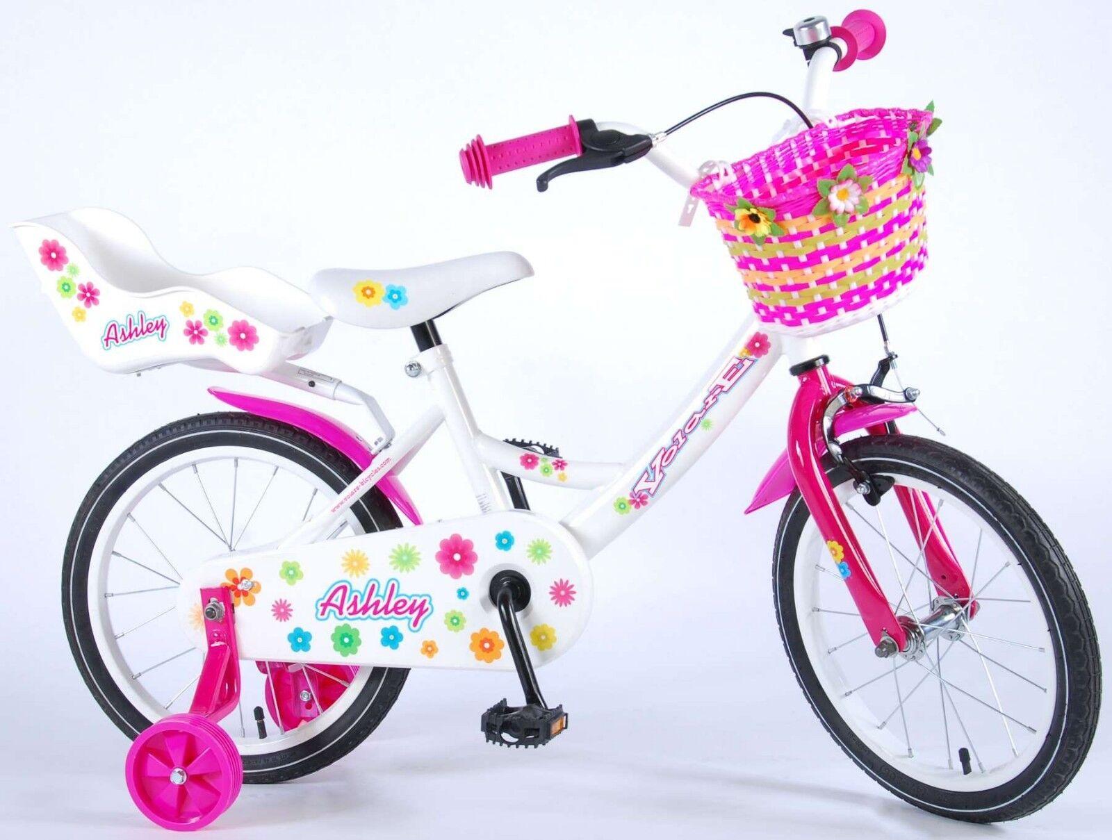 16 Zoll Fahrrad Kinder   Mädchen Kinderrad Kinderfahrrad Rosa Rosa