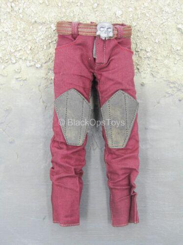 1//6 Scale Toy GI JOE Zartan-Rouge Pantalon Combat /& ceinture avec tete de détail