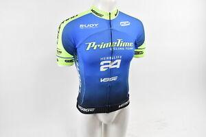 Brand New Verge Red//White Short Sleeve Cycling Jersey Medium