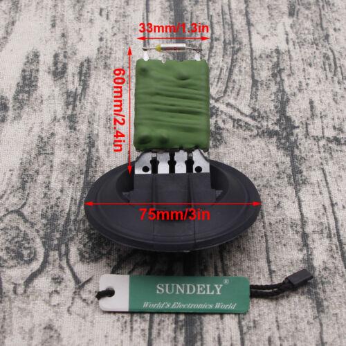 Heater Blower Fan Resistor Motor For Audi A1 A2 VW Polo Seat Ibiza Skoda Fabia