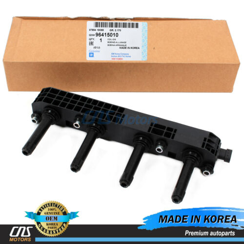 GENUINE Ignition Coil for 04-08 Chevrolet Optra Daewoo Lacetti OEM 96415010