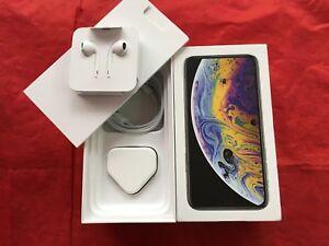 Genuine-Apple-iPhone-XS-BOX-Regno-Unito-modello-con-accessori-RIF-F17