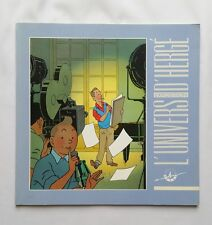 BD - L'univers d'HERGE exposition Tintin et Milou / 1987 / FONDATION D'HERGE
