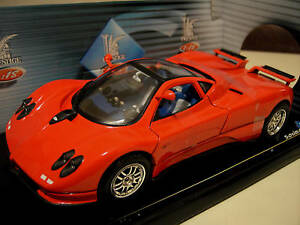 pagani zonda c12 rouge chelle 1 18 solido 8172 voiture miniature de collection ebay. Black Bedroom Furniture Sets. Home Design Ideas