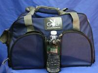 Playboy Golf Nylon Sport Duffle Bag 2 Outside Pockets Water Bottle Holder Duffel