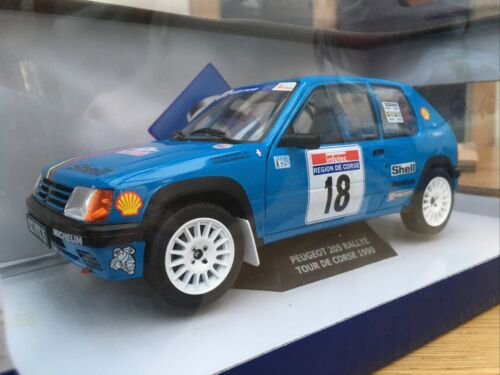 Solido 1801706 Peugeot 205 Rallye Tour de Corse Vericel Chollier tipo 1990 1:18