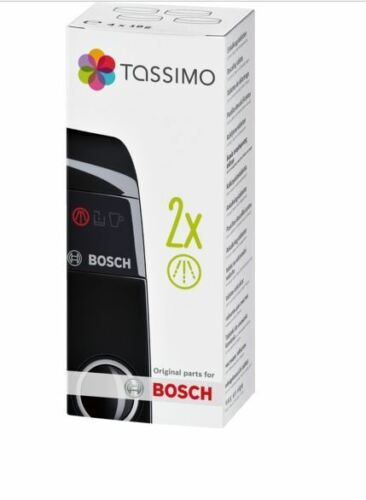 2 x Tassimo Bosch détartrage machine à café machine écailleur Nettoyant 311530 comprimés