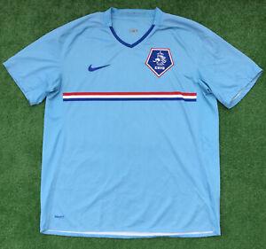 ORIGINALI Nike Paesi Bassi Olanda Calcio Away Camicia 2008-09 grandi per adulti
