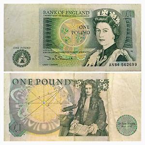 BANCONOTA ONE POUND STERLINA BANK OF ENGLAND 1978 - Italia - BANCONOTA ONE POUND STERLINA BANK OF ENGLAND 1978 - Italia