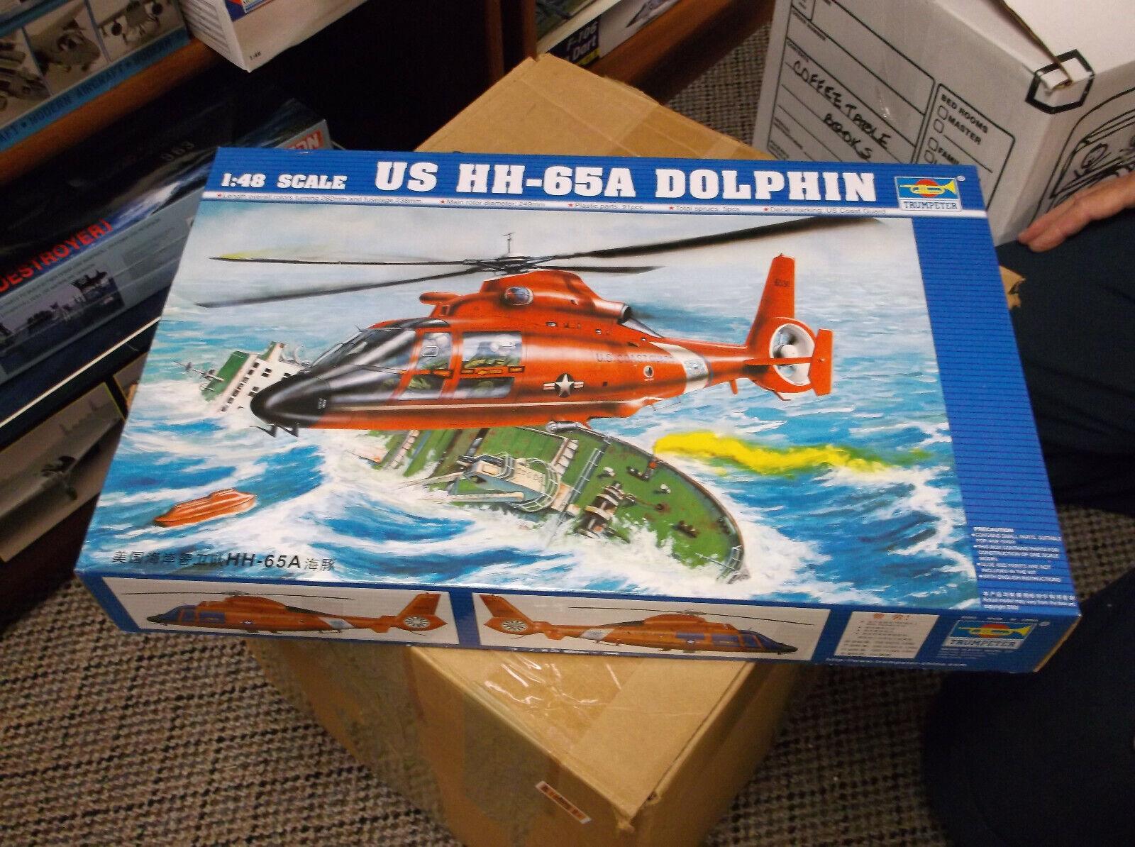 Trumpeter 02801-1:48 Aerospatiale HH-65A Dolphin Neu