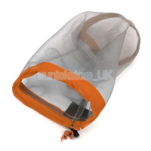 Tavel Camping Outdoor Ultralight Mesh Stuff Sack Drawstring Storage Bag M