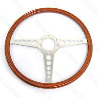 Jaguar Series 1 (1961-1971) - Xke - E-type - 15 Inch Steering Wheel - Chrome
