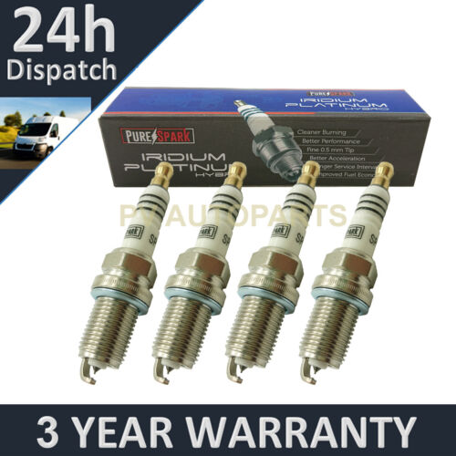 4X IRIDIUM TIP SPARK PLUGS FOR AUDI TT 2.0 TTS QUATTRO 2008-2014