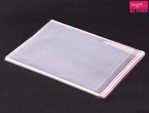 200x-Clear-Cello-PP-Flat-Cellophane-Bag-Seal-Resealable-24x34cm-Party-Favor-Gift
