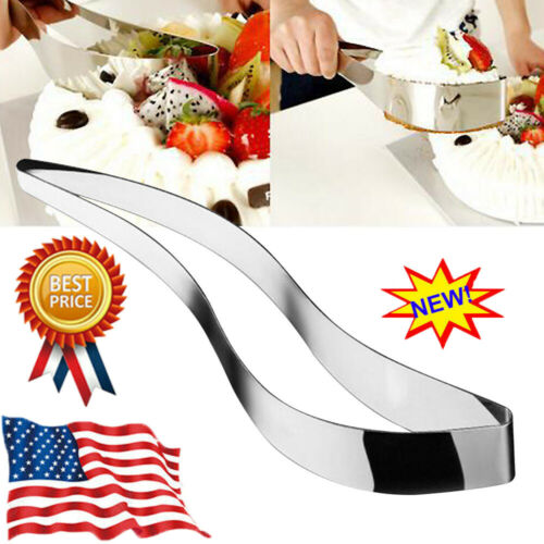 1Pc Cake Cutters Cutter Stainless Steel Bread Slicer Server Cake Pie Kitchen XF