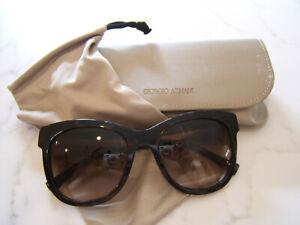 67fd43de47e5 Image is loading Giorgio-Armani-Tortoise-amp-Goldtone-Sunglasses-AR-8011-