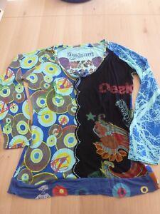 Tee-shirt-ML-Desigual-Taille-L
