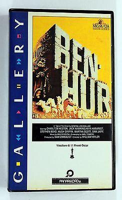 BEN HUR Charlton Heston VHS 1989 MGM