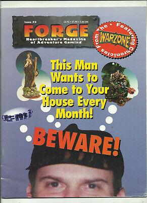 Forge Magazine - #5 (miniature, Warzone, Heartbreaker)-mostra Il Titolo Originale Vendite Economiche