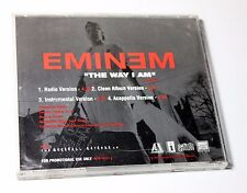 "EMINEM ""The Way I Am"" RARE PROMO MAXI CD 4 Mixes Acapela INSTRUMENTAL~  $8.98"