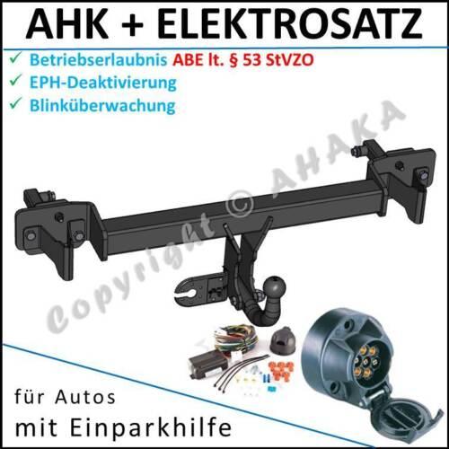 Anhängerkupplung ES7 BMW 3er E46 Touring 99-05 DPC EPH-Deaktivierung komplett