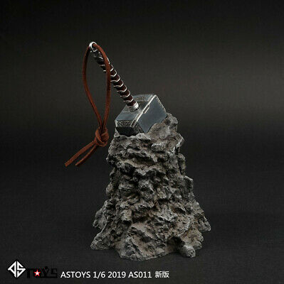 1//6 ASTOYS AS011 Martelo De Thor arma Adereços Modelo Acessórios Modelo De Edição Nova