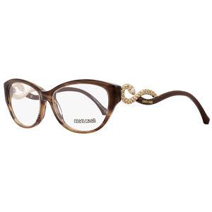 69beb216f66 Image is loading Roberto-Cavalli-Eyeglasses-Snakes-rc0938-052-Dark-Havana-