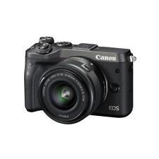 "Canon EOS M6 15-45mm 24.2mp 3"" DSLR Digital Camera Brand New Cod Agsbeagle"