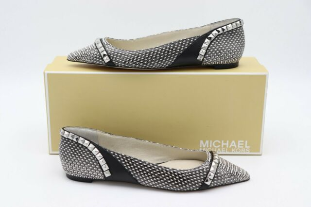 e1e22ac9e76fa Michael Kors Ella Slip-ons Flats Size 7 Snake Skin for sale online ...