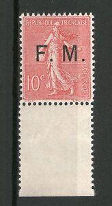 TIMBRE-DE-FRANCHISE-N-4-NEUF-GOMME-ORIGINALE