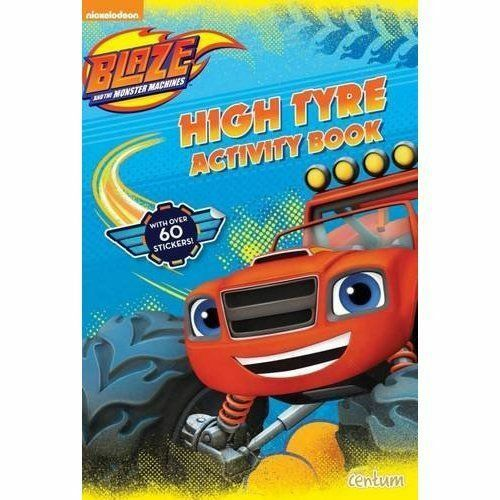 1 of 1 - Blaze and the Monster Machines High Tyre Activity Book