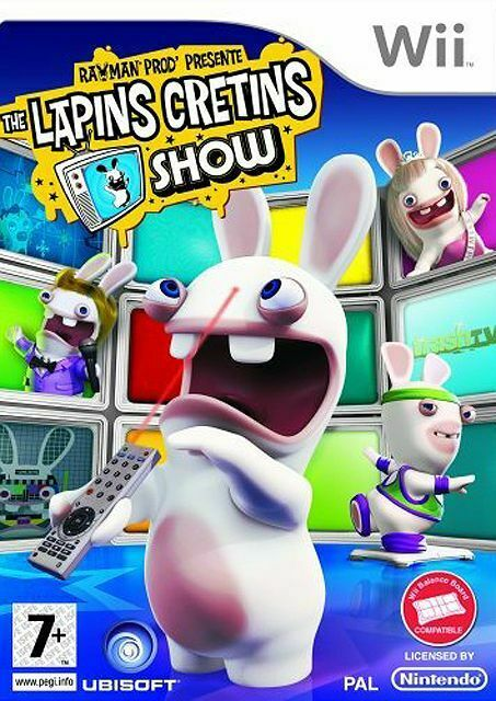 RAYMAN - THE LAPINS CRETINS SHOW / NINTENDO Wii / NEUF SOUS BLISTER D'ORIGINE VF