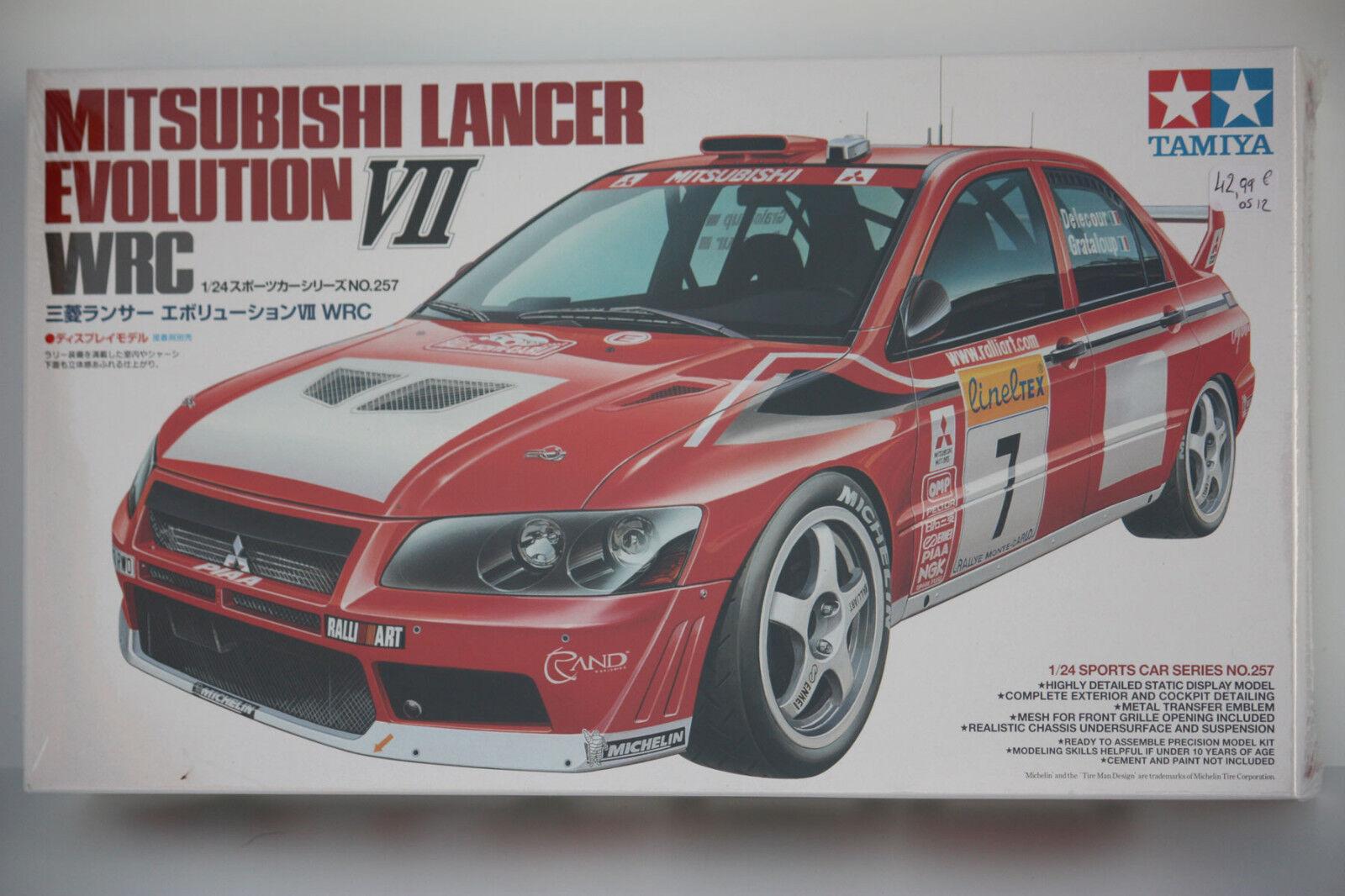 Tamiya Mitsubishi Evolution VII WRC 1 24 24257