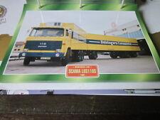Super Trucks Mehrzweck LKWs Schweden Scania LBS110S 1968